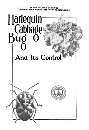 Primary view of object titled 'Harlequin Cabbage Bug and Its Control'.