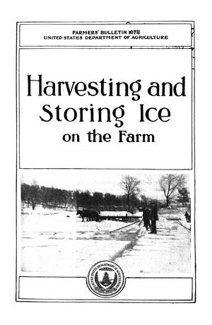 Primary view of object titled 'Harvesting and Storing Ice on the Farm'.