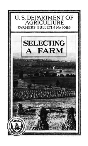 Primary view of object titled 'Selecting a Farm'.