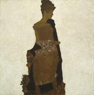 Primary view of object titled 'Portrait of Gerta Schiele'.