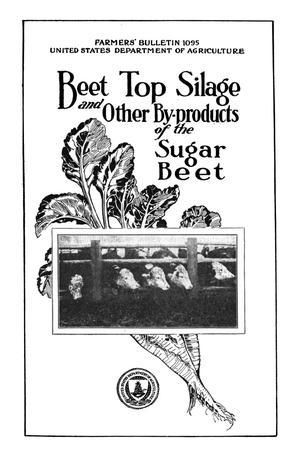 Primary view of object titled 'Beet-Top Silage and Other By-Products of the Sugar Beet'.