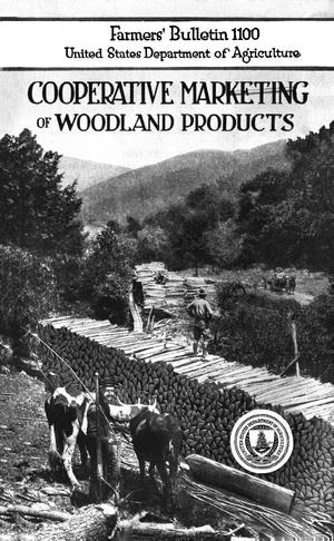 Primary view of object titled 'Cooperative Marketing of Woodland Products'.