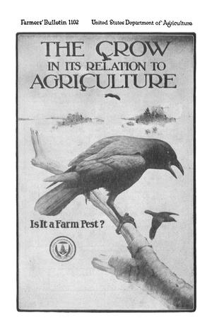 Primary view of object titled 'The Crow in Its Relation to Agriculture: Is It a Farm Pest?'.