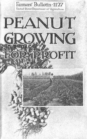 Primary view of object titled 'Peanut Growing for Profit'.