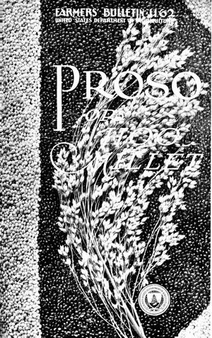 Primary view of object titled 'Proso, or Hog Millet'.