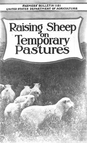Primary view of object titled 'Raising Sheep on Temporary Pastures'.