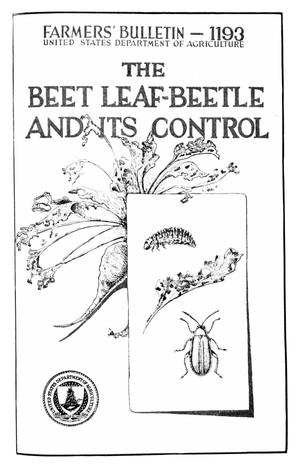 Primary view of object titled 'The Beet Leaf-Beetle and Its Control'.