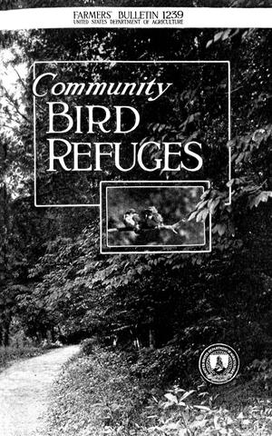 Primary view of object titled 'Community Bird Refuges'.