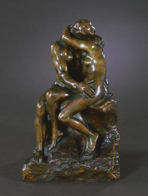 Primary view of object titled 'The Kiss (Le Baiser)'.
