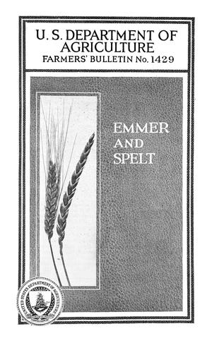 Primary view of object titled 'Emmer and Spelt'.