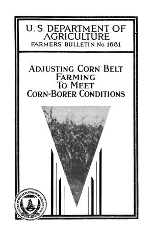Primary view of object titled 'Adjusting Corn Belt Farming to Meet Corn-Borer Conditions'.