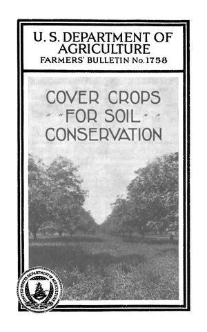 Primary view of object titled 'Cover Crops for Soil Conservation'.