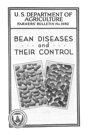 Primary view of object titled 'Bean Diseases and Their Control'.