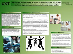Narcissism and Parenting: A Study of Narcissism and its Causes
