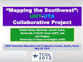 "Thumbnail image of item number 1 in: '""Mapping the Southwest"": UNT-UTA Collaborative Project'."