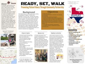 Primary view of object titled 'Ready, Set, Walk: Promoting Patron Fitness Through Community Partnership'.