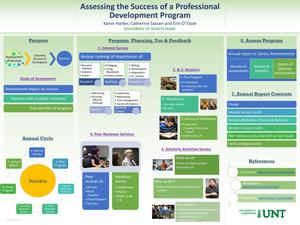 Primary view of object titled 'Assessing the Success of a Professional Development Program'.