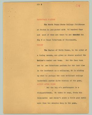 Primary view of object titled '[News Script: Big]'.