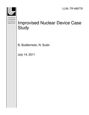 Primary view of object titled 'Improvised Nuclear Device Case Study'.