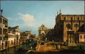 Primary view of object titled 'Campo di SS Giovanni e Paolo, Venice'.