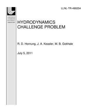 Primary view of object titled 'HYDRODYNAMICS CHALLENGE PROBLEM'.