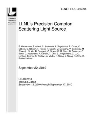 Primary view of object titled 'LLNL's Precision Compton Scattering Light Source'.