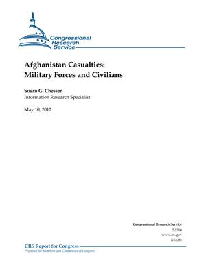 Afghanistan Casualties: Military Forces and Civilians