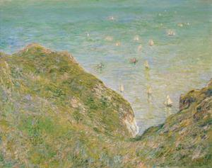 Primary view of On the Cliff at Pourville, Clear Weather