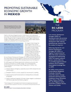 Primary view of object titled 'Promoting Sustainable Economic Growth in Mexico (Fact Sheet)'.