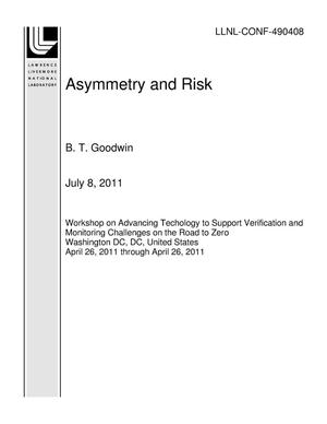 Primary view of object titled 'Asymmetry and Risk'.