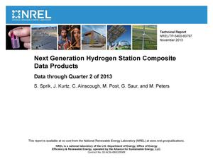 Primary view of object titled 'Next Generation Hydrogen Station Composite Data Products: Data through Quarter 2 of 2013'.