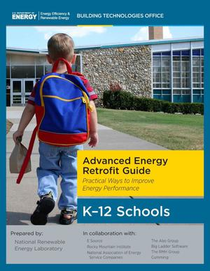 Primary view of object titled 'Advanced Energy Retrofit Guide: Practical Ways to Improve Energy Performance, K-12 Schools (Book)'.