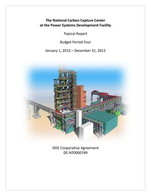 Primary view of object titled 'The National Carbon Capture Center at the Power Systems Development Facility'.