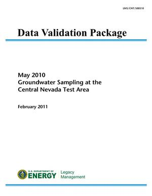 Primary view of object titled 'May 2010 Groundwater Sampling at the Central Nevada Test Area (Data Validation Package)'.