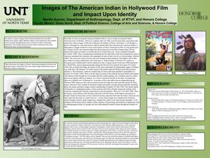 Primary view of object titled 'Images of The American Indian in Hollywood Film and Impact Upon Identity'.