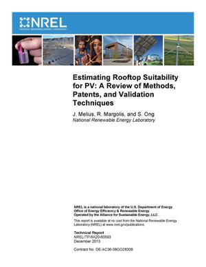 Primary view of object titled 'Estimating Rooftop Suitability for PV: A Review of Methods, Patents, and Validation Techniques'.