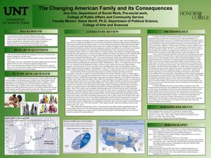 Primary view of object titled 'The Changing American Family and its Consequences'.