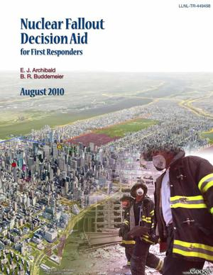 Primary view of Nuclear Fallout Decision Tool for First Responders