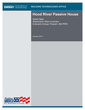 Primary view of object titled 'Hood River Passive House'.