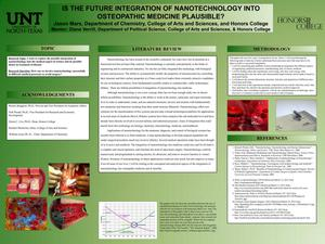 Primary view of object titled 'Is The Future Integration Of Nanotechnology Into Osteopathic Medicine Plausible?'.