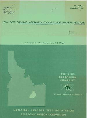 Primary view of object titled 'Low-Cost Organic Moderator-Coolants for Nuclear Reactors'.