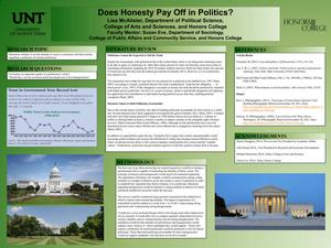 Primary view of object titled 'Does Honesty Pay Off in Politics?'.