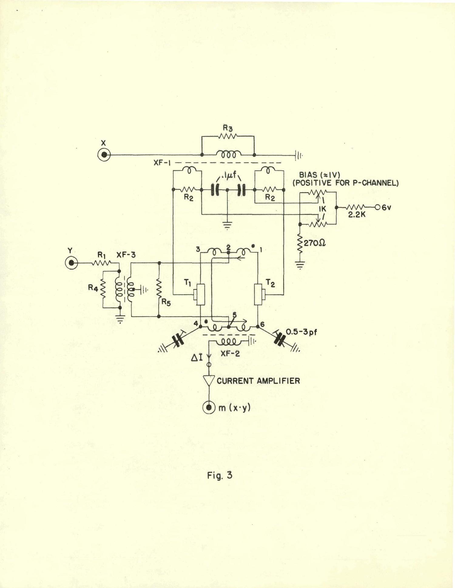 FAST ANALOGUE MULTIPLIERS WITH FIELD-EFFECT TRANSISTORS                                                                                                      [Sequence #]: 12 of 14