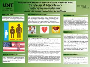 Primary view of object titled 'Prevalence of Heart Disease in African-American Men: The Influence of Cultural Factors'.