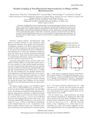 Primary view of object titled 'Tunable Coupling of Two-Dimensional Superconductors in Bilayer SrTiO3 Heterostructures'.