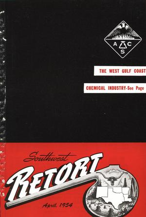 Primary view of object titled 'Southwest Retort, Volume 6, Number 7, April 1954'.