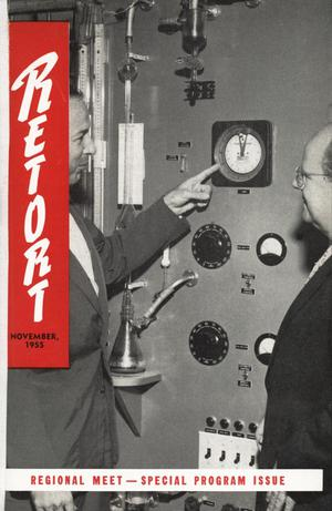 Primary view of object titled 'Southwest Retort, Volume 8, Number 2, November 1955'.