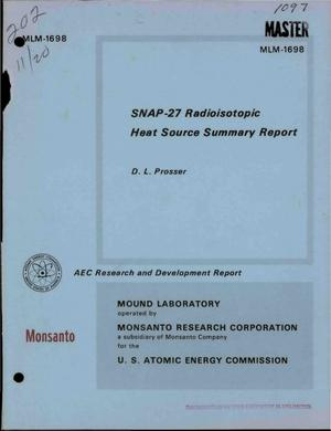 Primary view of object titled 'SNAP-27 ON THE MOON.'.