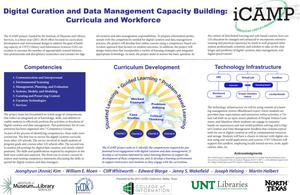 Digital Curation and Data Management Capacity Building: Curricula and Workforce