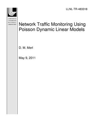 Primary view of object titled 'Network Traffic Monitoring Using Poisson Dynamic Linear Models'.